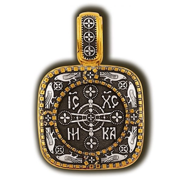 Orthodox byzantine cross
