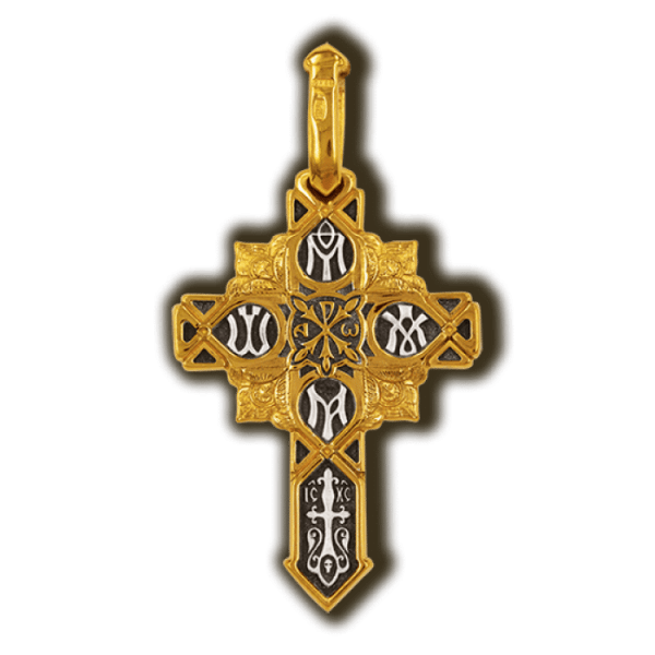 Cross blessed by pope