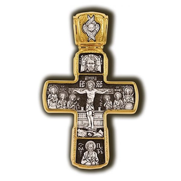 Greek orthodox cross necklace