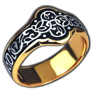 Christian jewelry ring - Save and protect