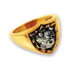 Christian ring for men - 925 Sterling Silver