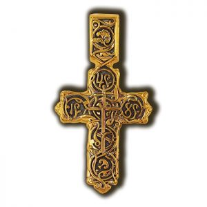 Flourish Tree of the Cross. Orthodox cross.