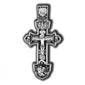 Large solid silver cross